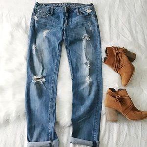 Bullhead Surfside BF Distressed Jeans